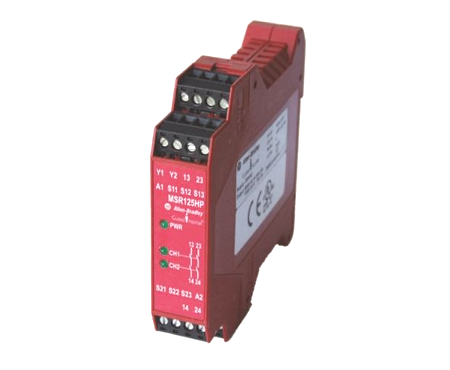 Two Hand Control safety relay Allen Bradley