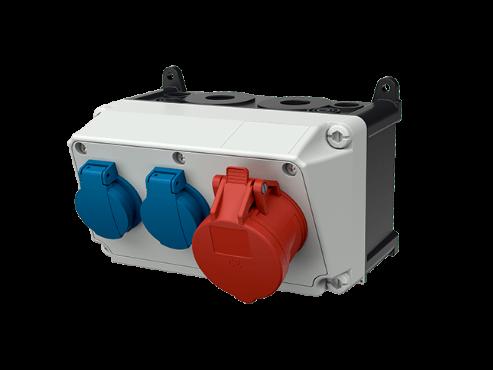 AMAXX receptacle combination 910007 MENNEKES